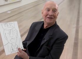 """ZDF-""""aspekte"""" initiiert Versteigerung von Baselitz-Zeichnung für wohltätigen Zweck (FOTO)"""
