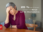 Studie zu den Wechseljahren – ein Viertel der Frauen macht sich Sorgen (FOTO)