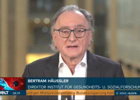 """""""Das heißt, diese 1.013 Menschen sind nicht gestern gestorben"""" / Prof. Bertram Häussler zur Aktualität der täglich veröffentlichten Todeszahlen (FOTO)"""