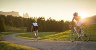 Es ist Zeit, durchzuatmen Zum Biken auf die Seiser Alm
