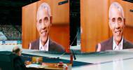"""Das Erste: """"Druckfrisch"""": Barack Obama exklusiv am Sonntag, 28. Februar 2021, um 23:35 Uhrüber Literatur und den Nutzen der Kultur für die Weltpolitik (FOTO)"""