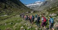 Auf dem Weg zum Frieden beim Alpine Peace Crossing