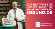 """""""Meine Apotheke ist gesund.de"""" – Die zentrale Gesundheitsplattform gesund.de startet B2B-Kampagne (FOTO)"""