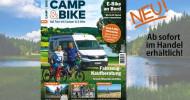 """Neues Magazin """"Camp& Bike"""": Die Traumkombi für aktive Urlauber (FOTO)"""