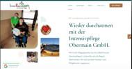 Neue Website von IntensivPflege Obermain GmbH online