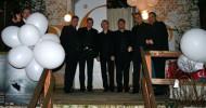 A-Cappella-Ensemble Choirblax singt auf deutsch-portugiesischer Hochzeit