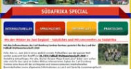 Nützliches und Unterhaltsames zur Regenbogennation Südafrika – Mit den Länderinformationen der Carl Duisberg Centren bestens gerüstet für die Fußball-WM 2010