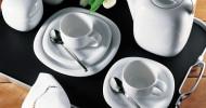 Rosenthal Geschirr und Vasen als Geschenk auf dem Online Hochzeitstisch