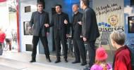 A-Cappella Köln: Quartett singt in der Schildergasse live