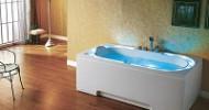Neue Dampfduschen und Whirlpool Badewannen für Zuhause von Atesia