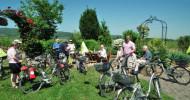 Pedelec  Probe fahren  in der Pfalz  am Wochenende  oder bei  Radausflügen  mit genussradeln-pfalz