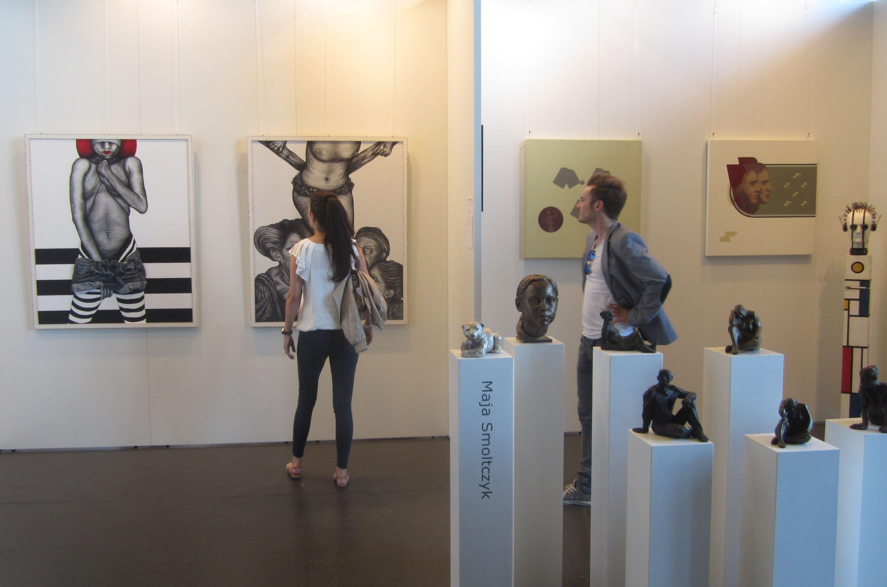 Rhy Art: Die neue Messe für junge und zeitgenössische Kunst wurde in ...