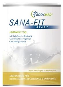 Abnehmen mit Sana Fit Produkten von Bodymed Gateo